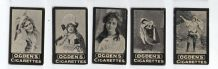 Tobacco Cigarette Cards Photo circa 1902 Theatre Actresses sensual #006